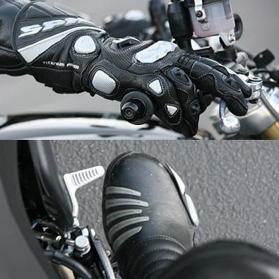 Как заводить мотоцикл