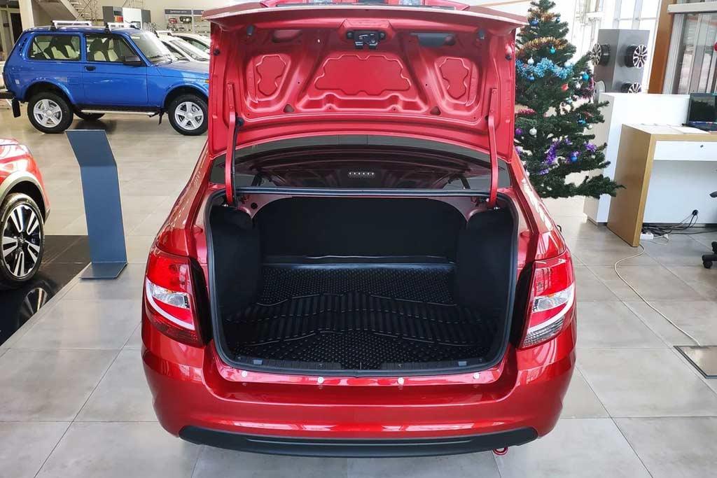 багажник в лада гранта