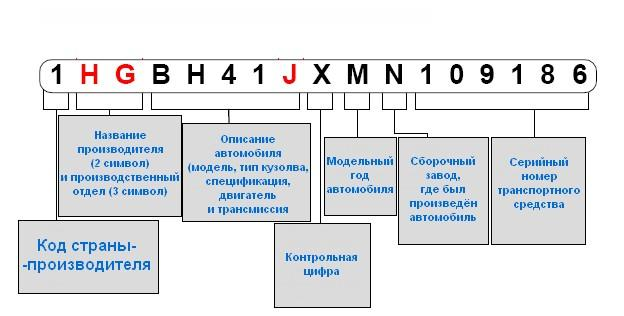 vin код автомобиля bmw расшифровка бесплатно