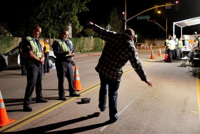 Прохождение освидетельствования на состояние алкогольного опьянения