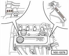 где находится номер двигателя на kia sportage 3