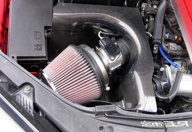 Спортивный воздушный фильтр как средство увеличения мощности мотора