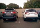 Базовый Lexus NX200 против топовой Toyota RAV4