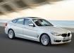 BMW 3 Gran Turismo - белый в движении