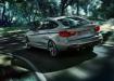 BMW 3 Gran Turismo - вид сзади в движении