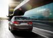 BMW 3 series - вид сзади в движении