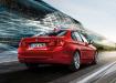 BMW 3 series - вид сзади красный
