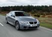 BMW 3 series на трассе