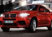 BMW X6 M в красном цвете