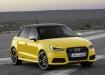 Audi A1 жёлтый