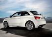 Audi A1 - белый трёхдверный вариант