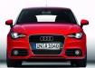 Audi A1 - красный, вид спереди