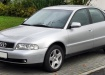 Audi A4 - поколение B5, серебристый