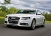 Audi A4 в движении