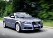 Audi A4 - кабриолет в движении