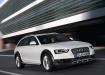 Audi A4 Allroad Quattro едет