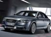 Audi A6 в серебристом цвете
