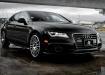 Audi A7 - мокрый асфальт