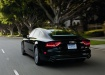 Audi A7 - вид сзади чёрного авто
