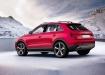 Audi Q3 - розовый, вид сбоку