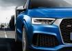 Audi RS Q3 крупным планом спереди