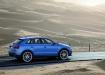 Audi RS Q3 - голубой