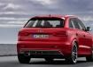 Audi RS Q3 - красный, вид сзади