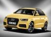 Audi RS Q3 - жёлтый