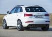 Audi RS Q3 - белый, вид сзади