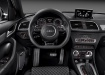Audi RS Q3 - вид с места водителя - панель приборов и консоль