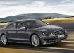 Audi S8 в движении