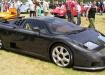 Bugatti EB 110 1998 года на выставке