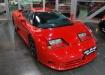 Bugatti EB 110 - красный