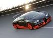 Bugatti Super Sport на гоночном треке