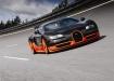 Bugatti Super Sport на треке