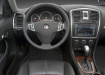 Cadillac BLS - вид с водительского места