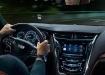 Cadillac CTS - вид изнутри из салона
