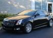 Cadillac CTS купе в чёрном цвете