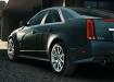 Cadillac CTS V - чёрный, вид сзади