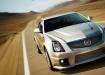 Cadillac CTS V в движении