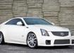 Cadillac CTS V - белое купе