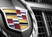 Cadillac Escalade - эмблема на решётке радиатора