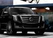 Cadillac Escalade - чёрный тюнинг