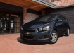 Chevrolet Aveo - чёрный