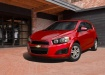 Chevrolet Aveo - красный