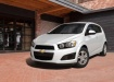 Chevrolet Aveo - белый