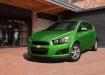 Chevrolet Aveo - зелёный