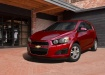 Chevrolet Aveo - тёмно-красный