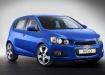 Chevrolet Aveo в синем цвете