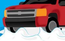 Что делать, если застрял в снегу автомобиль?